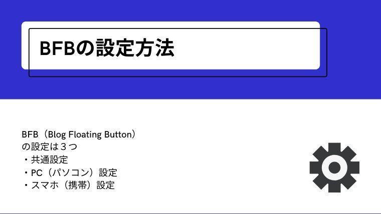 BFB(Blog Floating Button)プラグイン