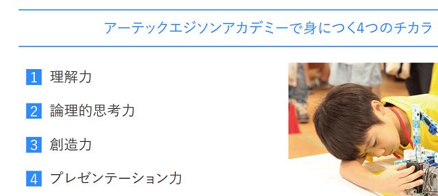 ロボット教室 エジソンアカデミー