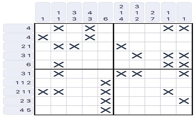 Monogram アプリ パズルゲーム
